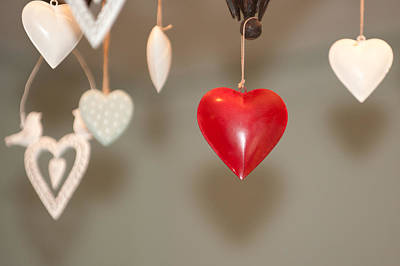 Photograph - Heart Among Hearts II by Helen Northcott