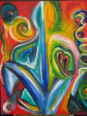 Painting - Heart And Soul by Susan Cooke Pena