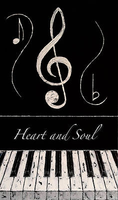 Heart And Soul Art Print by Wayne Cantrell