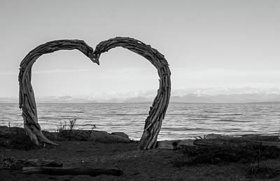 Heart Arch Art Print