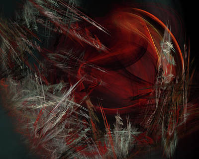 Digital Art - Heart Attack by John Knapko