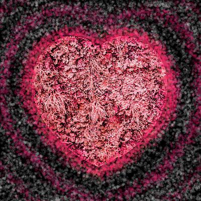 Digital Art - Heart Beat by Hazy Apple