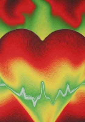 Heart Beat Original by Rob Hans
