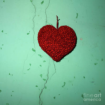 Heart Art Print by Bernard Jaubert