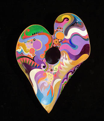 Painting - Heart Bowl by Bob Coonts