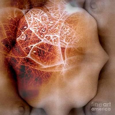 Drawing - Heart Breaker by Jack Dillhunt