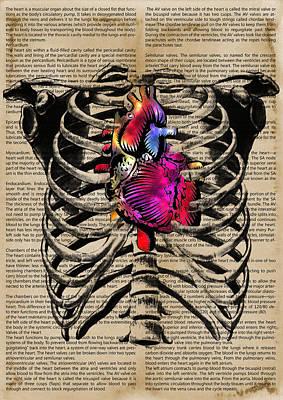 Heart - By Diana Van Art Print
