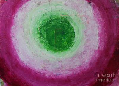 Painting - Heart Chakra by Kim Nelson