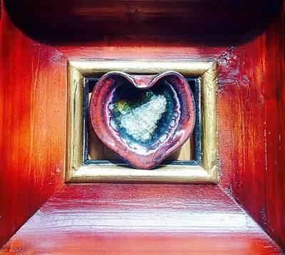 Corazones Photograph - Heart by Melissa Ulloa