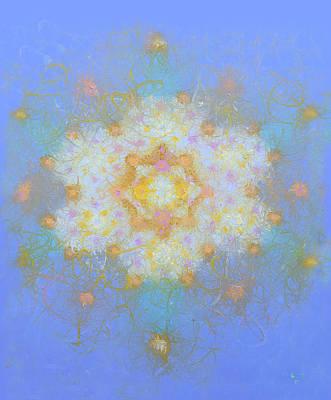 Heart Dna Fifty One Art Print by Robert Selkirk