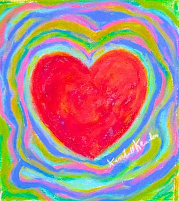 Painting - Heart Electric  by Kendall Kessler