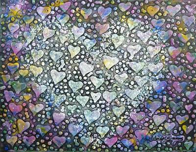 Painting - Heart Felt by Amelie Simmons