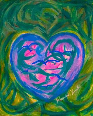 Painting - Heart Flight by Kendall Kessler