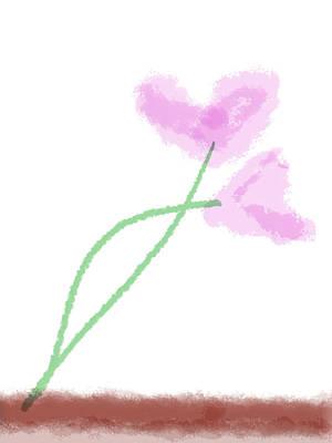 Painting - Heart Flowers by Bill Owen