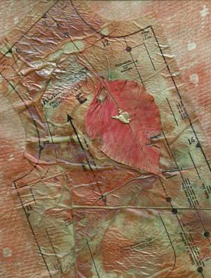 Iridescent Mixed Media - Heart Healing by Pat Spear