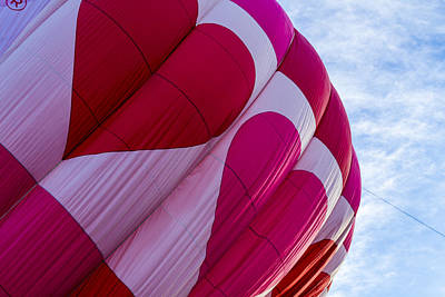 Photograph - Heart Hot Air Balloon by Teri Virbickis