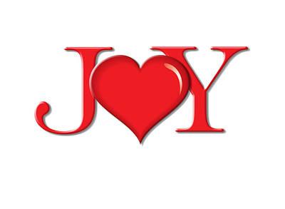 Heart Joy Art Print