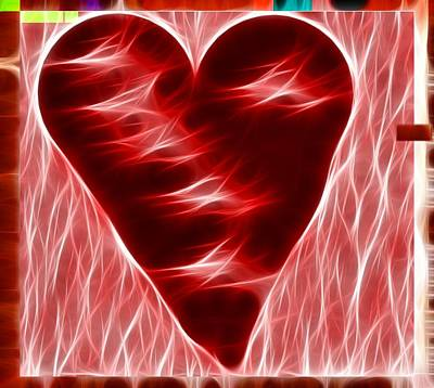 Heart  Art Print by Kevin  Sherf