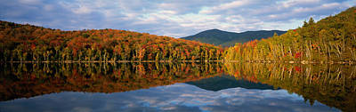 Heart Lake, Adirondack Mountains, New Art Print by Panoramic Images