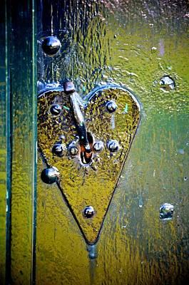 Heart Lock Art Print