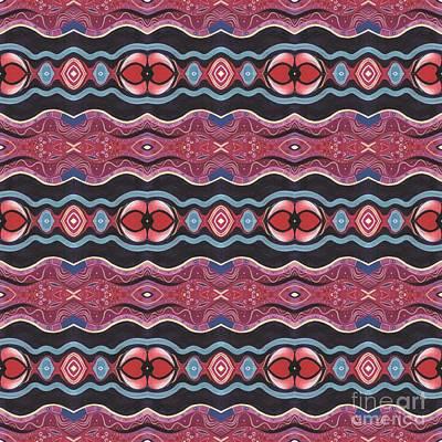 Heart Matters - T J O D 34 Arrangement 1 Tile Art Print by Helena Tiainen