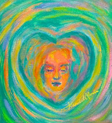 Painting - Heart Memory by Kendall Kessler