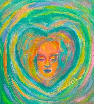 Painting - Heart Memory by Kendall Kessler