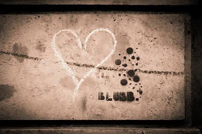 Dresden Wall Art - Photograph - Heart by Michael Weber