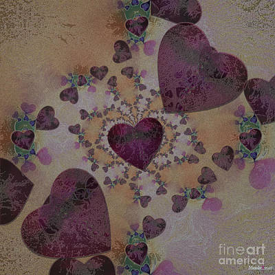 Heart Mix Art Print
