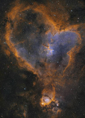 Photograph - Heart Nebula by Dennis Sprinkle