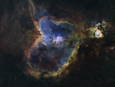 Rollingstone Photograph - Heart Nebula by Manuel Huss