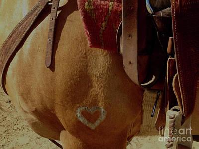 Photograph - Heart Of A Horse by Susan Garren