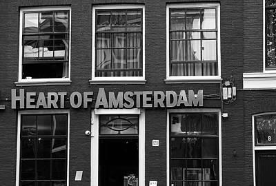 Photograph - Heart Of Amsterdam by Aidan Moran