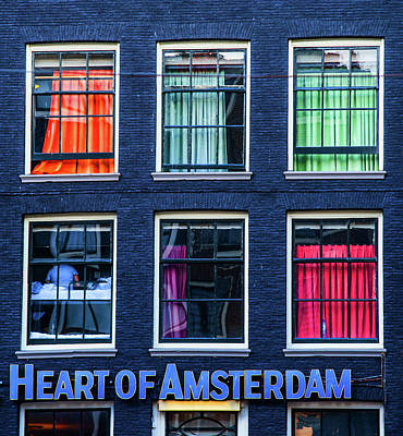Photograph - Heart Of Amsterdam. Dutch Sketches by Jenny Rainbow