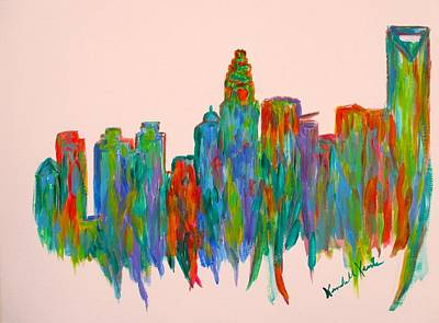 Painting - Heart Of Charlotte by Kendall Kessler