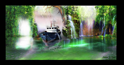 Heart Of Darkness Art Print by Michael Cleere