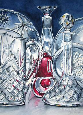 Painting - Heart Of Glass by Jane Loveall