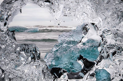 Heart Of Ice Art Print