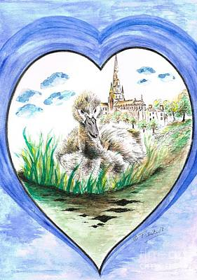 Mixed Media - Heart Of Lichfield Cathedral  by Teresa White