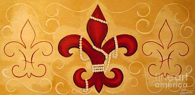 Heart Of New Orleans Art Print