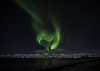 Photograph - Heart Of Northern Lights by Frodi Brinks
