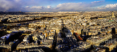 Photograph - Paris Skyline by M G Whittingham