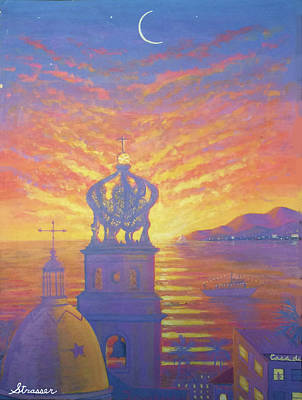 Painting - Heart Of Puerto Vallarta by Frank Strasser
