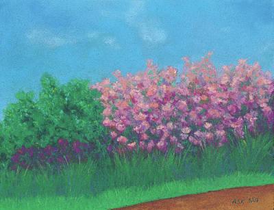 Pastel - Heart Of Spring by Anne Katzeff