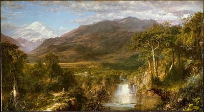 Tree Painting - Heart Of The Andes by MotionAge Designs