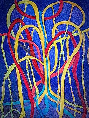 Painting - Heart Of The Banyan by Anne Sands