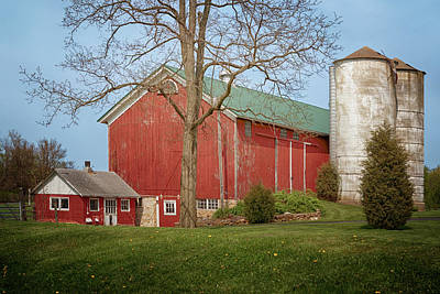 Photograph - Heart Of The Farm  by Susan Rissi Tregoning