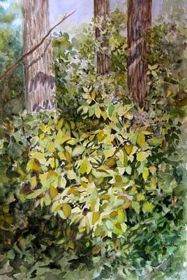 Appleton Painting - Heart Of The Forest by Sharon Gouthro