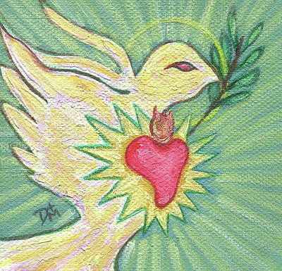 Heart Of The Holy Spirit Original by Danielle Tayabas