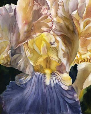 Painting - Heart Of The Iris by Alfred Ng